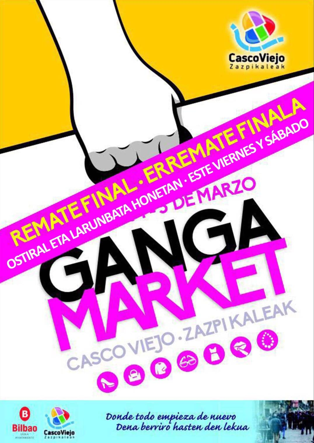 Remate Final Ganga Market Casco Viejo