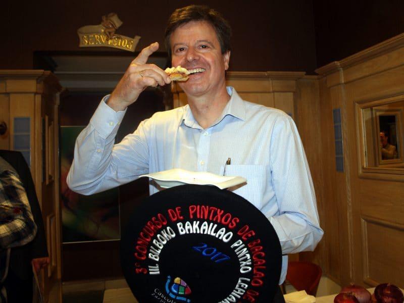 El Café Lago, campeón del Concurso de Pintxos de Bacalao del Casco Viejo