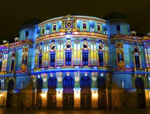 Noche Blanca en el Casco Viejo (Teatro Arriaga)