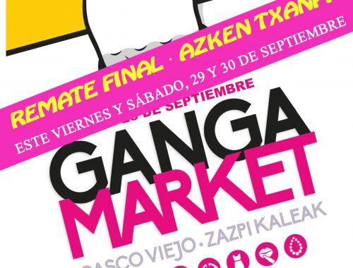 CARTEL REMATE FINAL GANGA MARKET SEPTIEMBRE 2017