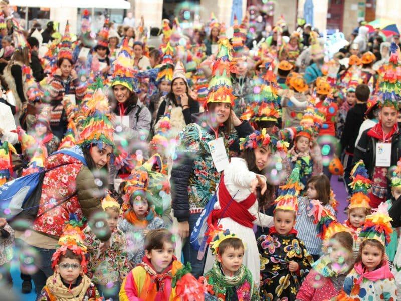 Carnavales en el Casco Viejo de Bilbao