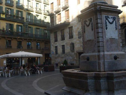 Plazuela de Santiago en Bilbao