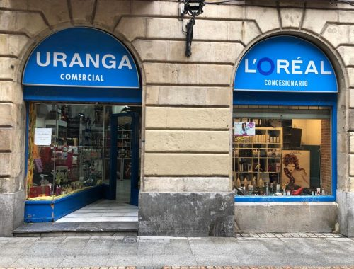 Comercial Uranga, estética y salud en el Casco Viejo de Bilbao